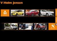 V Holm Jensen a/Ss webside