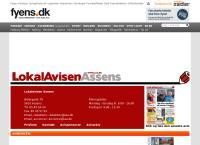 Vestfyns Aviss webside
